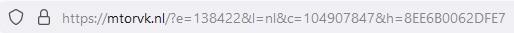 voorbeeld hash encrypted URL